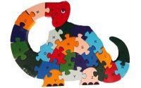 Puzzle dřevěné - Dinosaurus