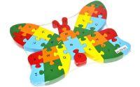 Puzzle dřevěné - Motýl