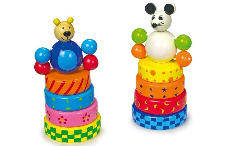 Skládací věže Myš a medvěd