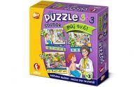 """Soubor puzzle 3v1 """"Můj svět"""""""