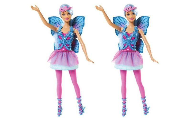 Barbie Víla Modré vlasy