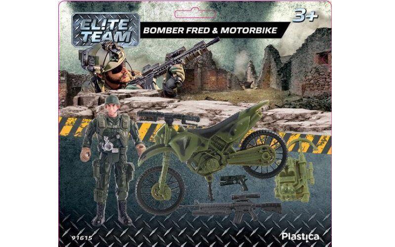 Bomber Fred & Motorbike