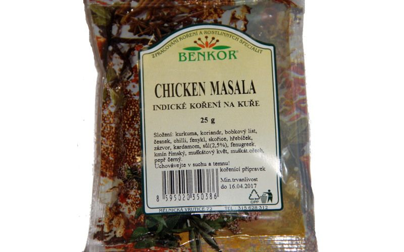 Chicken masala 25g