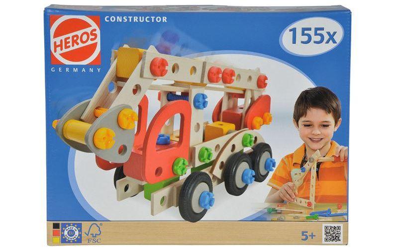 Constructor Hasičské auto 155 dílů