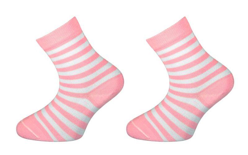 Trepon Dětské bambusové ponožky BABAR - růžové Velikost 19-21