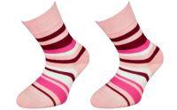 Dětské bavlněné ponožky JANKA - růžové