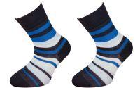 Dětské bavlněné ponožky JANKA - tmavě modré
