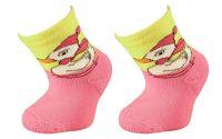 Dětské bavlněné ponožky KAČKA - žluté