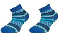 Dětské kotníčkové ponožky ZIRKA - modré