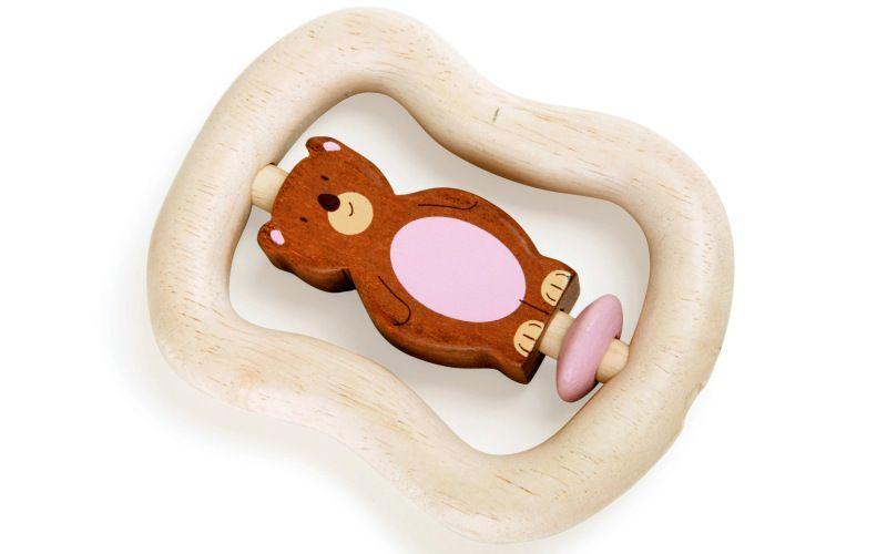 Legler Dřevěný Medvídek do ruky