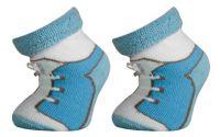 Kojenecké termo ponožky LUMPÍK - modré