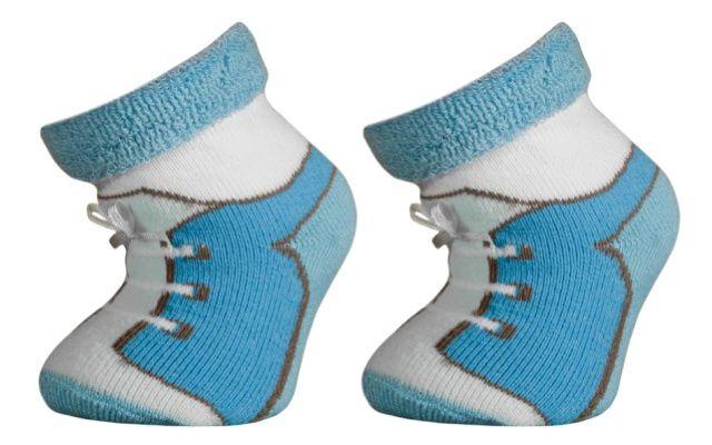 Trepon Kojenecké termo ponožky LUMPÍK - modré Velikost 13-15