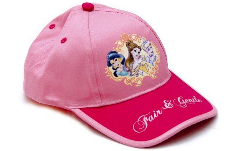 Letní kšiltovka Princess růžová
