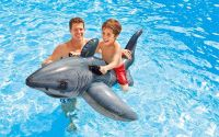 Nafukovací bílý žralok 173x107 cm
