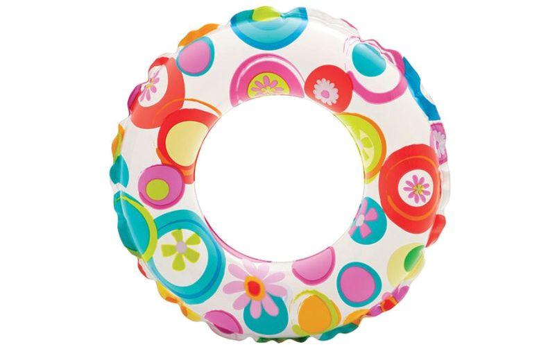 Nafukovací kruh Kytičky 51 cm