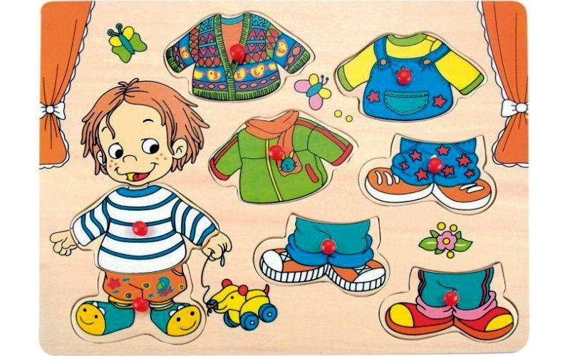 Woody Oblékání na desce Sebastian