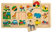 Přilož kam co patří malé (3x6) Žirafa Suzie