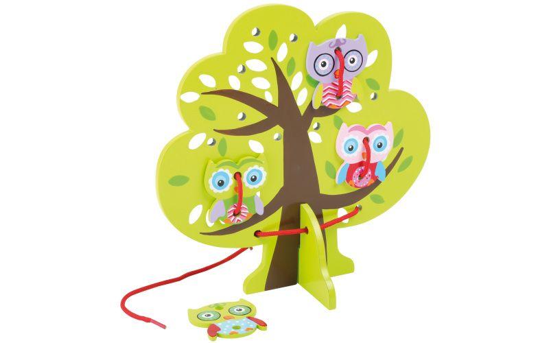 Provlékací hra Strom a sovy