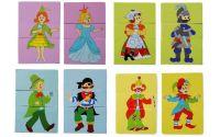 Puzzle 3-dílné Pohádkové postavy