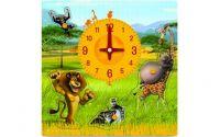 Puzzle hodiny - Madagaskar