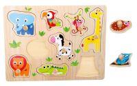 Puzzle Zoologická zvířata