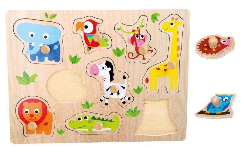 Legler Puzzle Zoologická zvířata