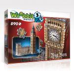 3D puzzle Big Ben a Westminsterský palác 890 dílků