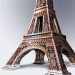 3D puzzle Eifelova věž 816 dílků