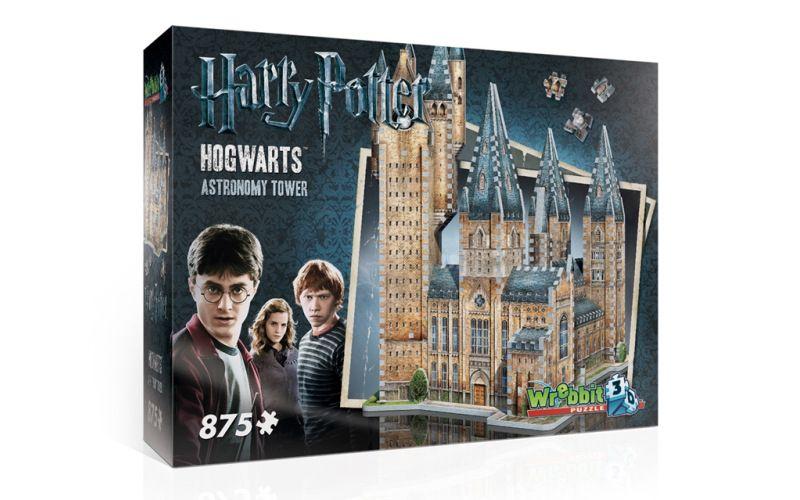 Wrebbit 3D puzzle Harry Potter Bradavice Astronomická věž 875 dílků