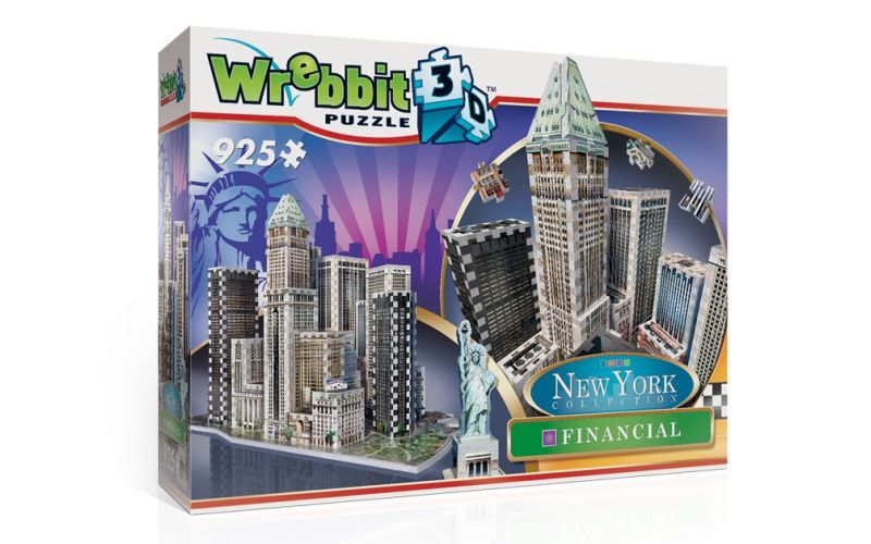 3D puzzle New York Financial 925 dílků