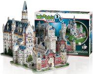3D puzzle Zamek Neuschwanstein 890 dílků