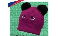 Dětská čepice ROCKINO Kočička fialová