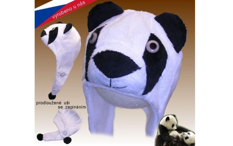Rockino Dětská čepice ROCKINO Medvídek Panda Velikost 48