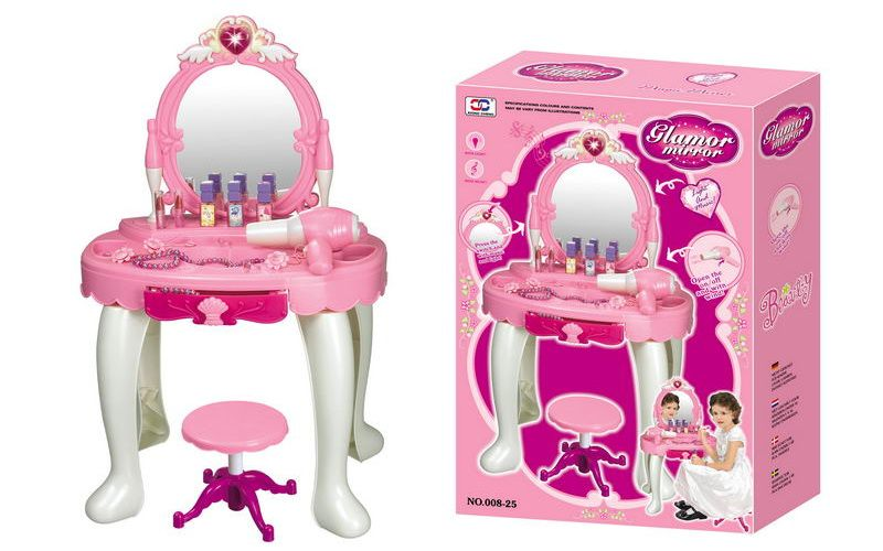 Dětský kosmetický stolek G21 s fénem