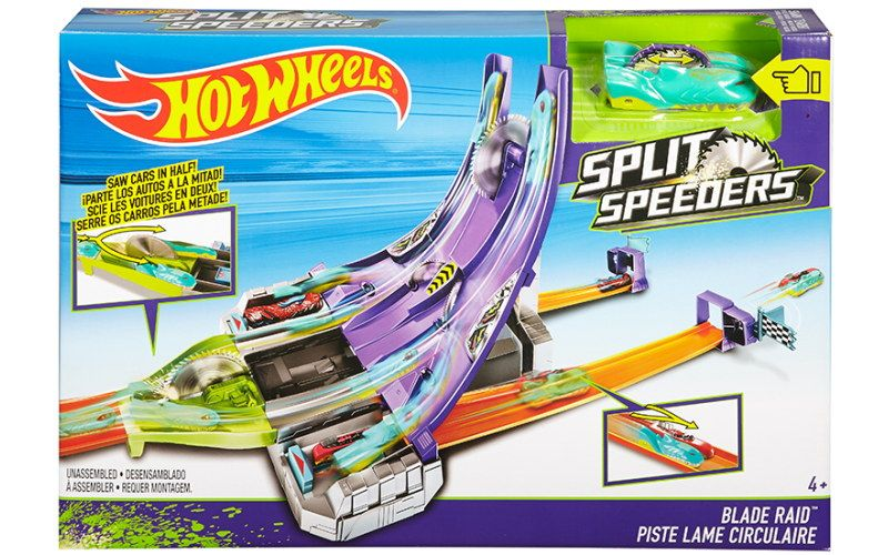 Mattel Hot Wheels Split speeders dráha s pilou