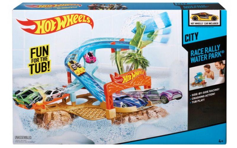 Mattel Hot Wheels Závod v Aquaparku
