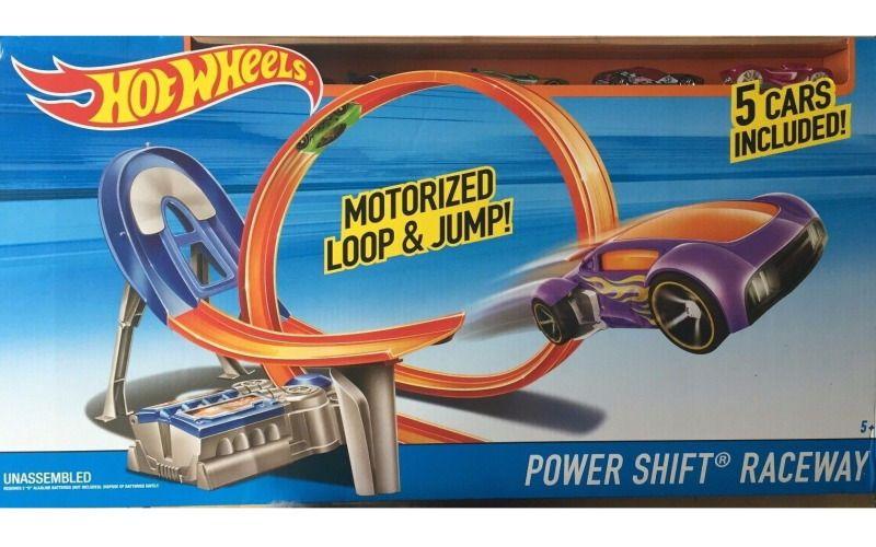 Mattel Hot wheels závodní dráha s 5 autíčky