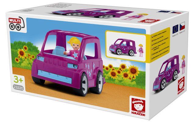 IGRÁČEK Auto s Pinky star