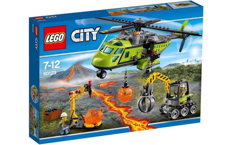 Lego LEGO City 60123 Sopečná zásobovací helikoptéra
