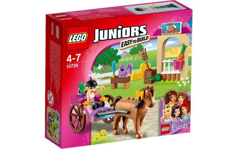 Lego LEGO Juniors 10726 Stephanie a kočár s koníkem