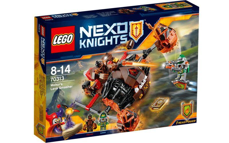 Lego LEGO Nexo Knights 70313 Moltorův lávový drtič