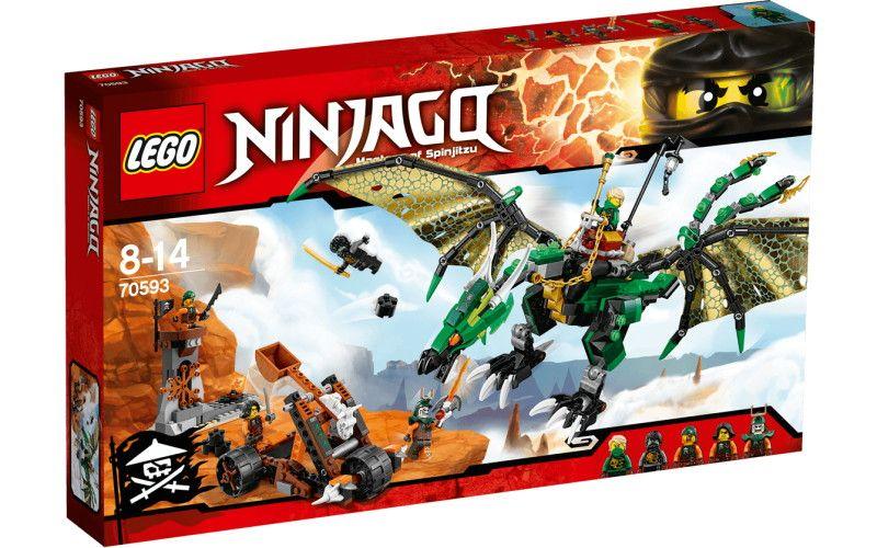 Lego LEGO Ninjago 70593 Zelený drak NRG