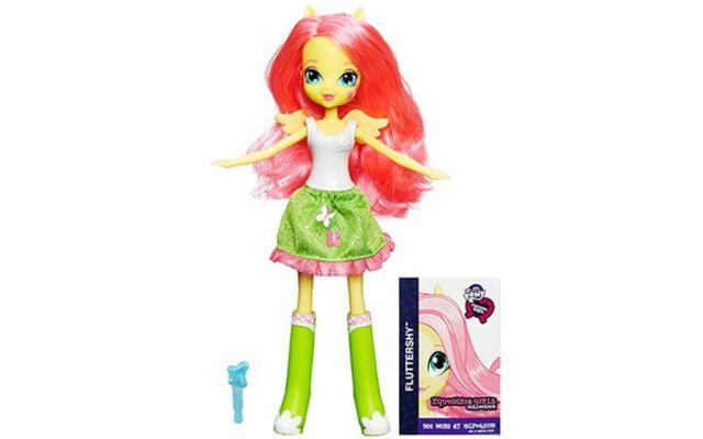 Hasbro My Little Pony Equestria Girls Panenka na každý den Fluttershy