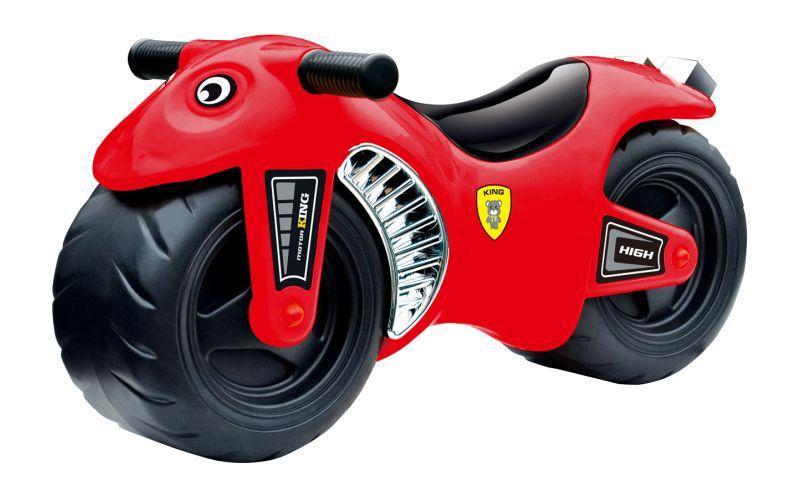 Odrážedlo MOTORKA G21 60 cm červená