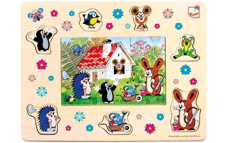 Puzzle Krteček a přátelé