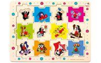 Puzzle Krteček tvary, 24 dílků