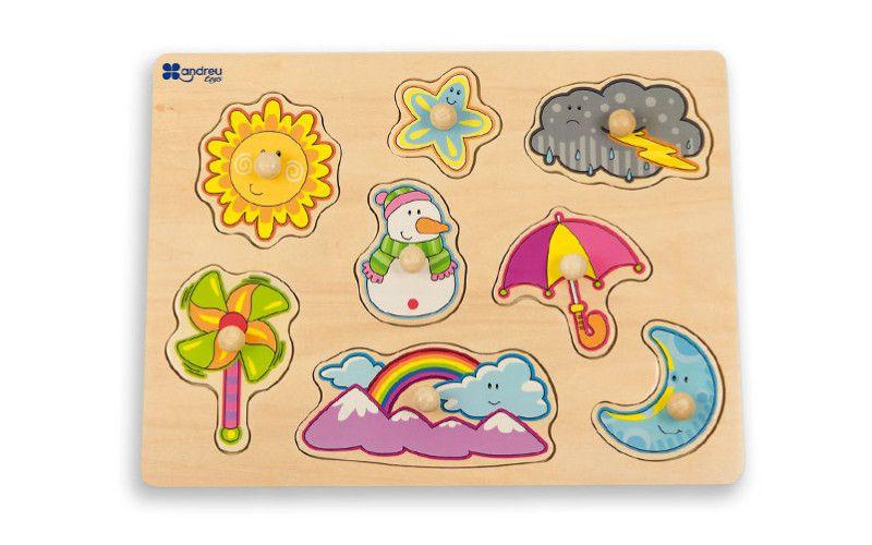Puzzle Počasí