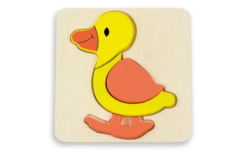 Puzzle pro nejmenší - kachnička