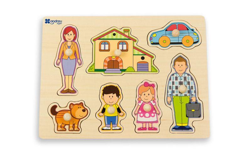 Puzzle Rodina
