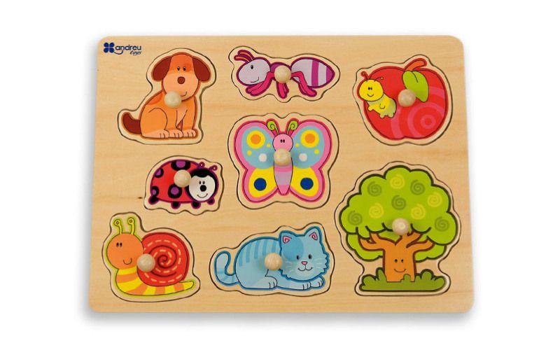 Andreu Toys Puzzle Zahrada